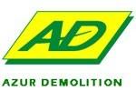 Logo client Azur Demolition