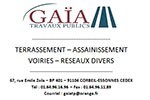 Client GAIA TRAVAUX PUBLICS