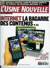 Presse L'USINE NOUVELLE